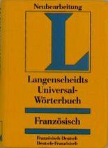 Langenscheidts Universal-Wörterbücher, Französisch