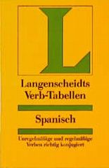 Langenscheidts Verb- Tabellen Spanisch