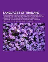 Languages of Thailand