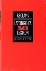 Lateinisches Zitaten- Lexikon