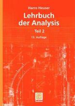 Lehrbuch der Analysis