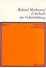 Lehrbuch der Gehörbildung / Elementare Gehörbildung