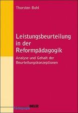 Leistungsbeurteilung in der Reformpädagogik