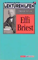 Lektürehilfen Effi Briest. Mit Materialien. (Lernmaterialien) (Klett Lektürehilfen)