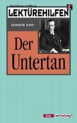 Lektürehilfen Heinrich Mann 'Der Untertan'