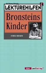 """Lektürehilfen Jurek Becker """"Bronsteins Kinder"""""""