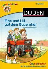 Lesedetektive Übungsbücher - Finn und Lili auf dem Bauernhof, 1. Klasse