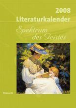 Literaturkalender Spektrum des Geistes 2008