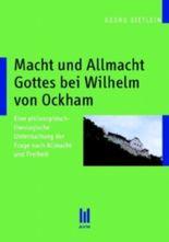 Macht und Allmacht Gottes bei Wilhelm von Ockham