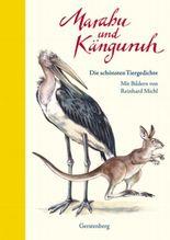 Marabu und Känguruh
