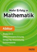 Mehr Erfolg in Mathematik, Abitur: Analysis 2