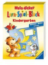 Mein dicker Lern-Spiel-Block Kindergarten