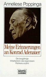 Meine Erinnerungen an Konrad Adenauer