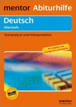 mentor Abiturhilfe: Deutsch Oberstufe