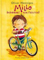Millo bekommt ein Fahrrad