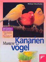 Muntere Kanarienvögel