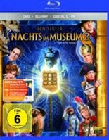 Nachts im Museum 2, 1 Blu-ray u. 1 DVD