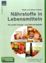 Nährstoffe in Lebensmitteln