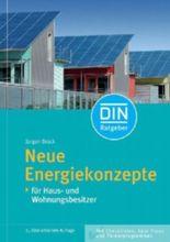 Neue Energiekonzepte für Haus- und Wohnungsbesitzer