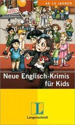 Neue Englisch-Krimis für Kids. 3 Hefte
