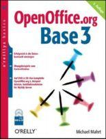 OpenOffice.org Base 3, m. DVD-ROM u. CD-ROM