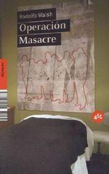 Operación masacre. Das Massaker von San Martín, spanische Ausgabe