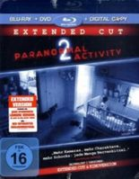 Paranormal Activity 2, Extended Cut, 1 Blu-ray + DVD inkl. Digital Copy