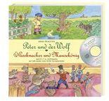Peter und der Wolf. Nussknacker und Mausekönig, m. Audio-CD