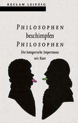 Philosophen beschimpfen Philosophen