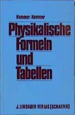 Physikalische Formeln und Tabellen