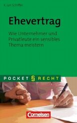 Pocket Recht / Ehevertrag