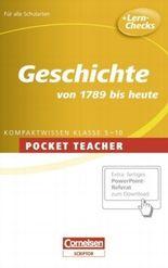 Pocket Teacher. Sekundarstufe I (mit Umschlagklappen) / Geschichte