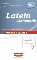Pocket Teacher. Sekundarstufe I (mit Umschlagklappen) / Latein