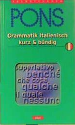 PONS Grammatik Italienisch kurz & bündig