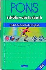 PONS Schülerwörterbuch, Englisch-Deutsch/Deutsch-Englisch