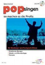 Pop singen, So machen es die Profis, m. Audio-CD