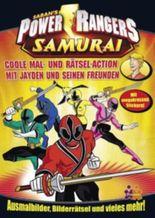 Power Rangers Samurai. Coole Mal- und Rätsel-Action mit Jayden und seinen Freunden