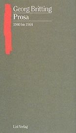 Prosa, 1940 bis 1964
