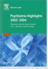 Psychiatrie-Highlights 2003-2004