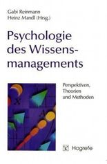 Psychologie des Wissensmanagements