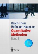 Quantitative Methoden, Bd. 2