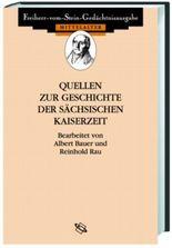 Quellen zur Geschichte der sächsischen Kaiserzeit