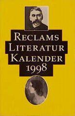 Reclams Literatur- Kalender 1998