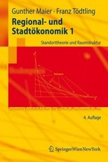 Regional- Und Stadtokonomik 1