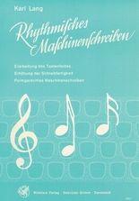 Rhythmisches Maschinenschreiben