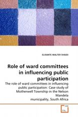 Role of ward committees in influencing public participation