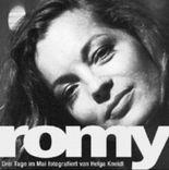 Romy - Drei Tage im Mai. Romy Schneider in Paris. Fotografische Portraits