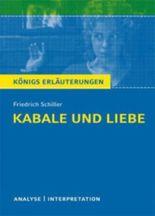 Schiller. Kabale und Liebe