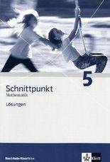 Schnittpunkt - Ausgabe für Nordrhein-Westfalen - Neubearbeitung. Mathematik für Realschulen / Lösungen 5. Schuljahr