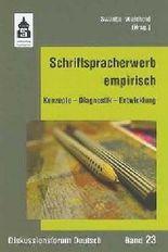 Schriftspracherwerb empirisch